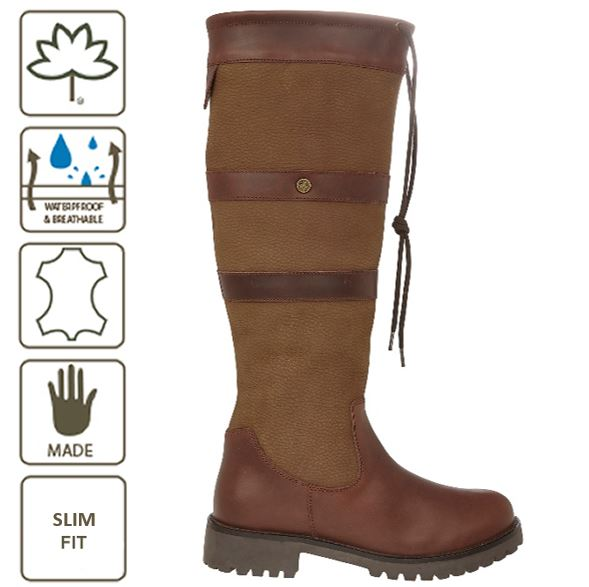 GATCOMBE SLIM FIT WATERPROOF COUNTRY BOOT