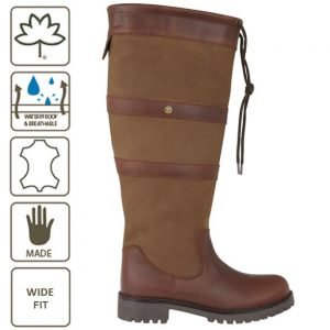 HIGHGROVE WIDE FIT WATERPROOF COUNTRY BOOT